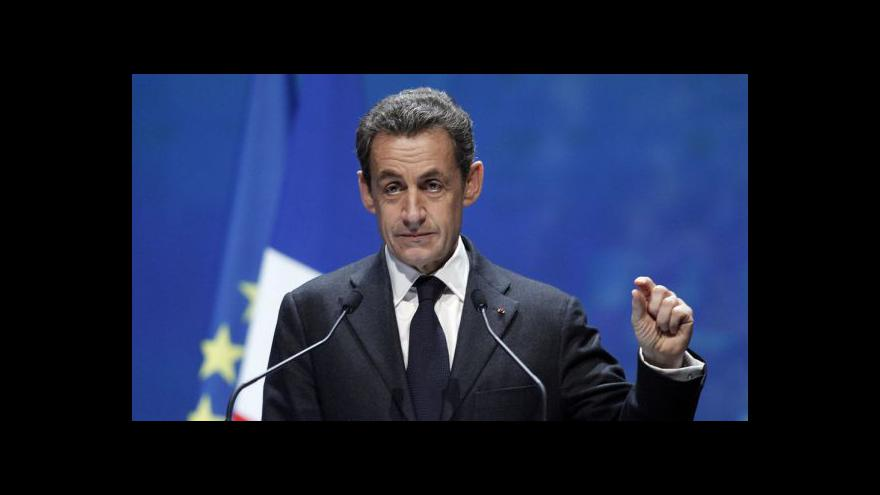 Video Studio ČT24 - Sarkozy opět prezidentem?