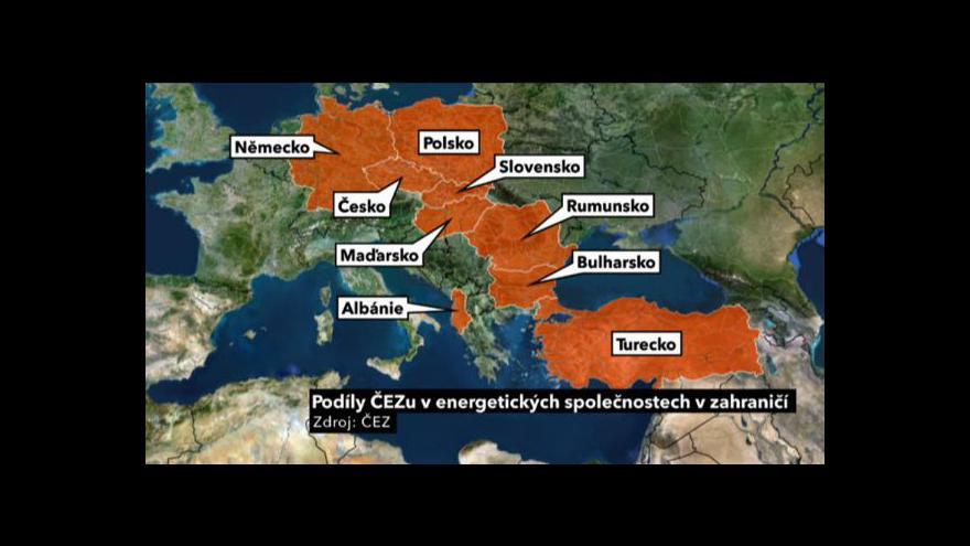 Video Albánský skandál ČEZu
