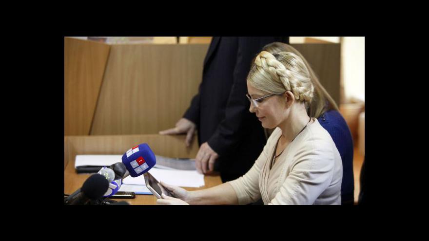 Video Studio ČT24 o vyšetření Tymošenkové