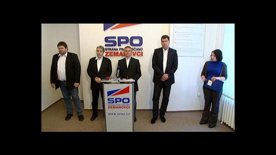 Video Tisková konference SPOZ