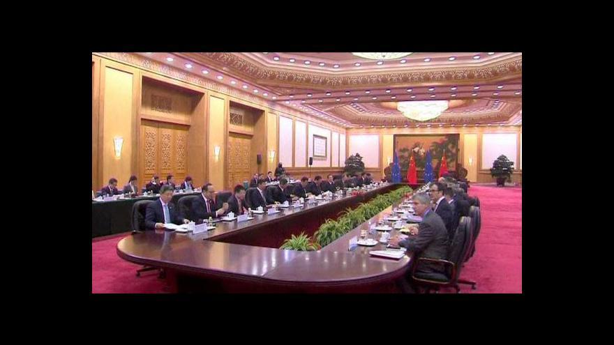 Video Barroso a van Rompuy na návštěvě Číny