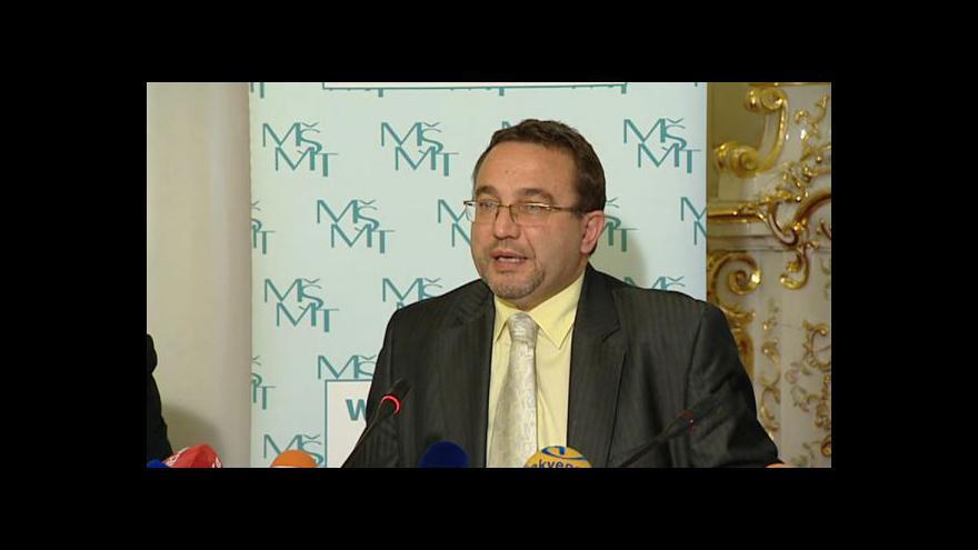 Video Brífink ministerstva školství ke zprávě OECD
