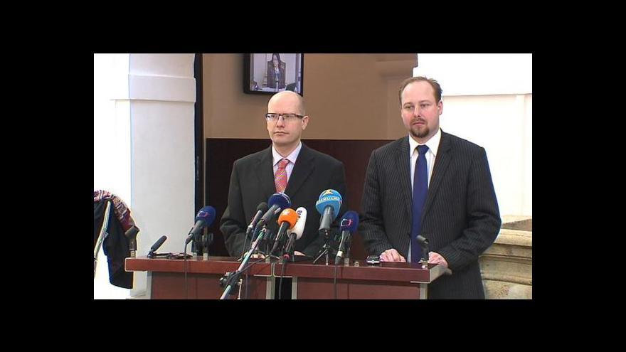 Video Brífink ČSSD k odměnám úředníků