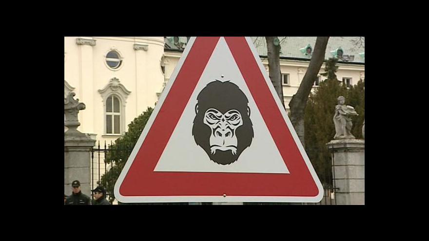 Video Studio ČT24 o kauze Gorila