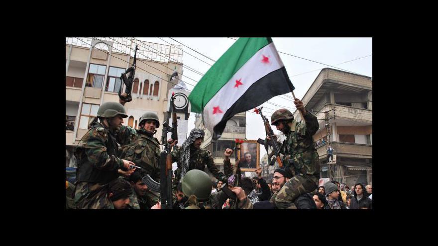 Video Syrský Homs opět pod palbou