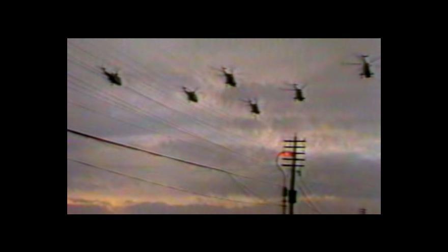 Video Falklandy v zajetí