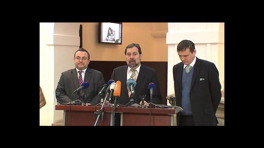 Video Brífink po jednání výkonné rady VV