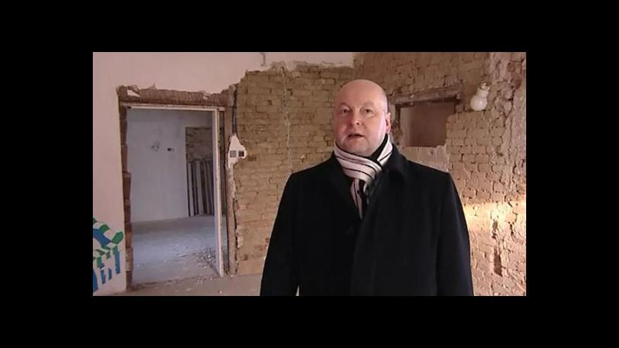 Video Starosta Bučovic Radovan Válek o havarijním stavu domů
