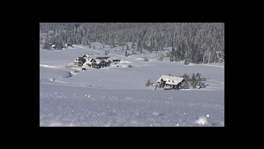 Video Rekordní mrazy v Česku
