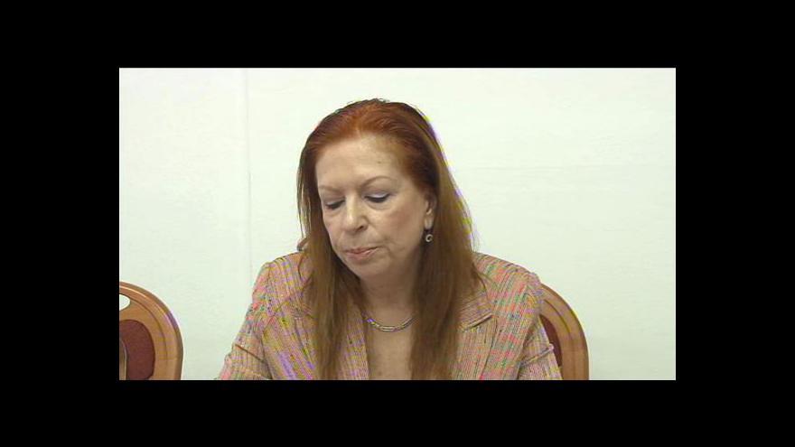 Video Procházková podala trestní oznámení na Duku