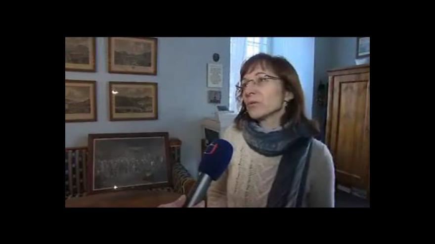 Video O objevech hovoří kastelánka vizovického zámku Jana Pluhařová