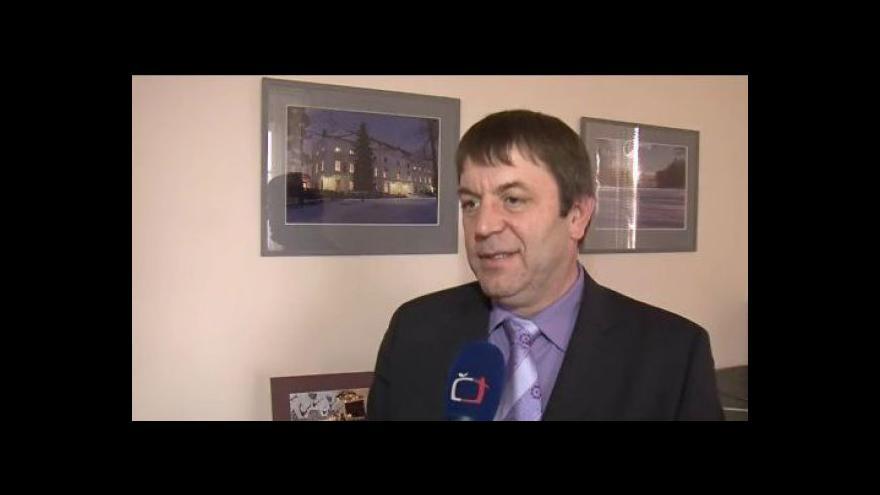 Video Hovoří starosta Židlochovic Vlastimil Helma (ODS)
