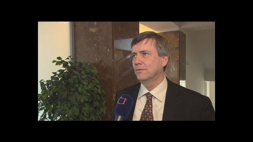 Video Náměstek ministra financí Tomáš Zídek