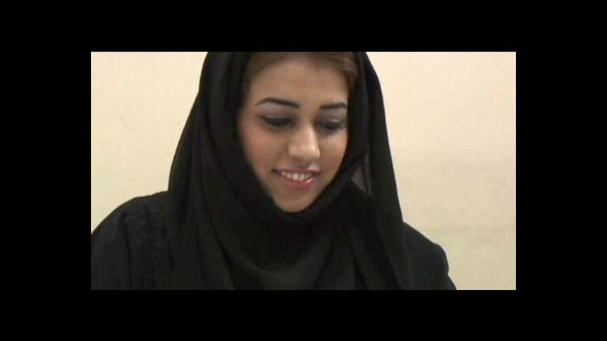 Video V Dubaji řídí metro žena