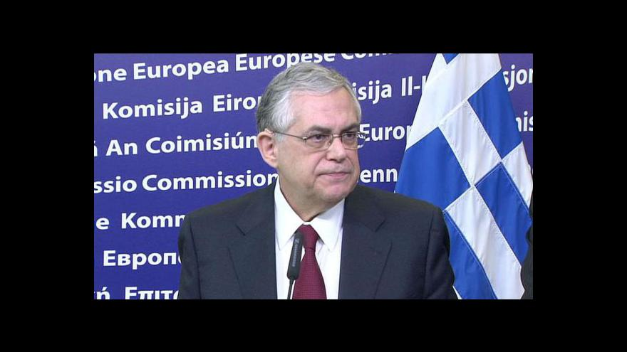 Video Řecko shání peníze
