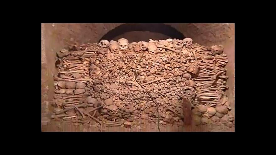Video Aleš Svoboda o nových objevech v kostnici