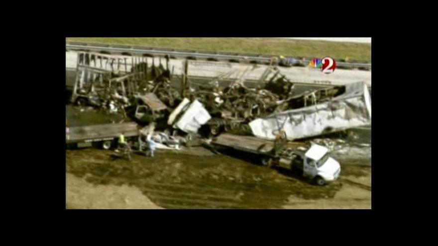 Video Nehodu na Floridě nepřežilo deset lidí