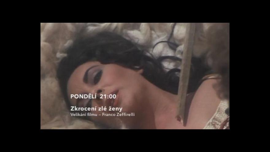 Video Ukázka z filmu Zkrocení zlé ženy