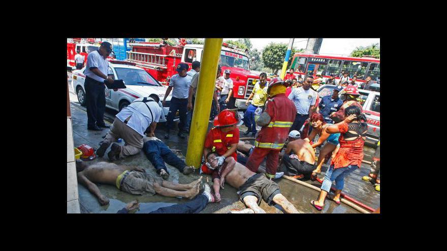 Video V Peru uhořely na tři desítky drogově závislých