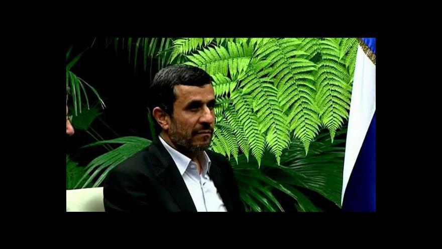 Video Evropští inspektoři se vydali do Íránu