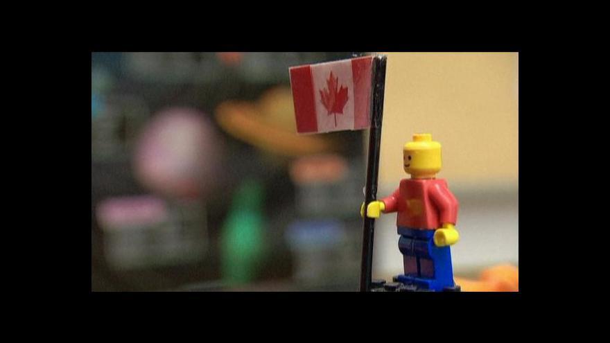 Video Studenti vyslali do vesmítu figurku z lega