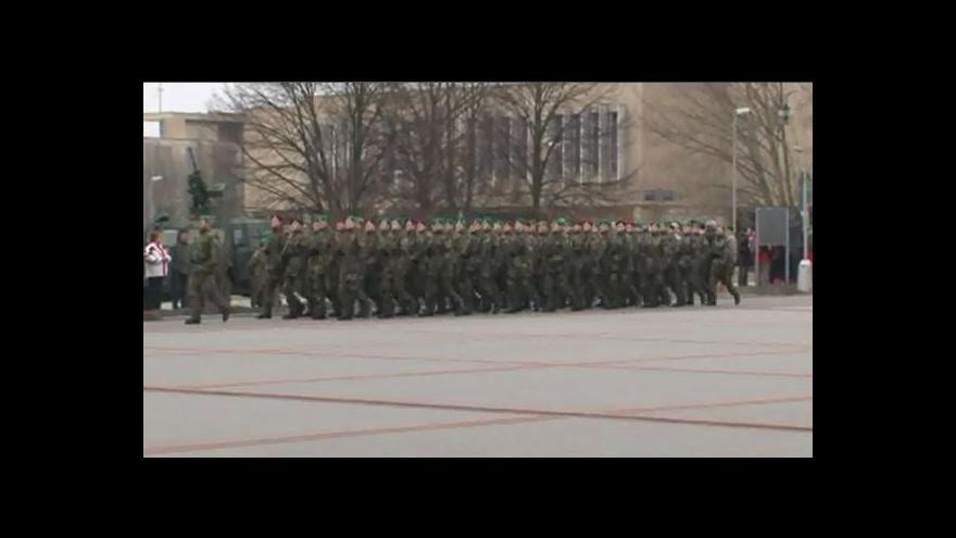 Video NO COMMENT: Slavnostní vojenská přísaha ve Vyškově