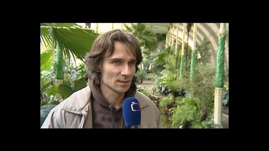 Video Hovoří správce lednického skleníku Otto Bernard