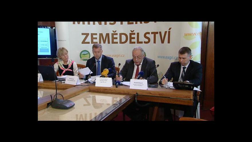 Video Tisková konference Petra Bendla k Lesům ČR