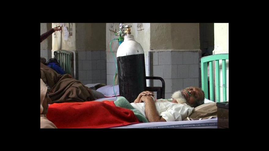 Video V Pákistánu umřelo kvůli lékům na srdce přes 100 lidí