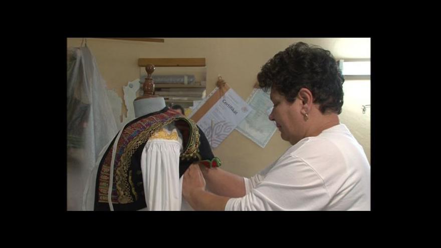 Video Vyprávění paní Vítoslavské o hanáckých krojích