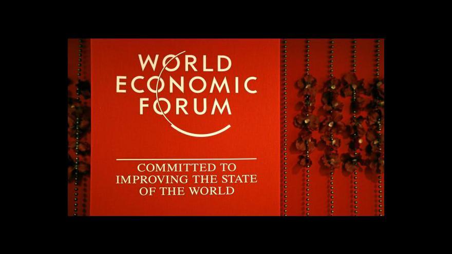 Video Projev Davida Camerona v Davosu
