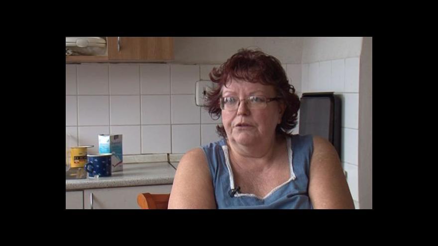 Video Helena Koláčková o životě v ubytovně