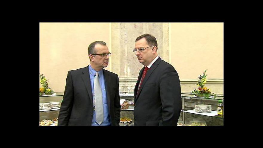 Video Události, komentáře o české pomoci eurozóně
