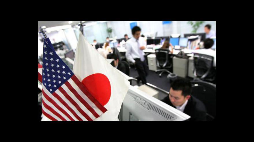 Video Japonský zahraniční obchod