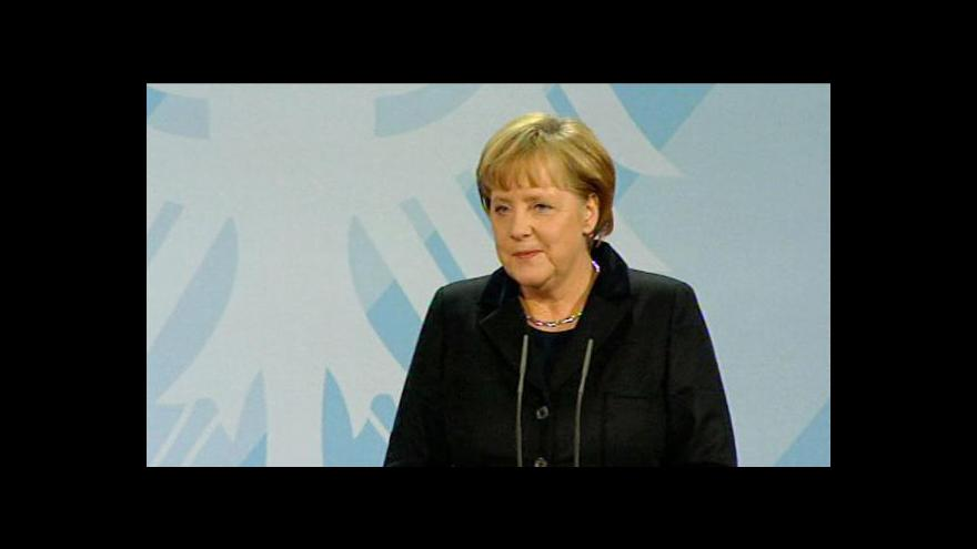 Video Projev Angely Merkelové