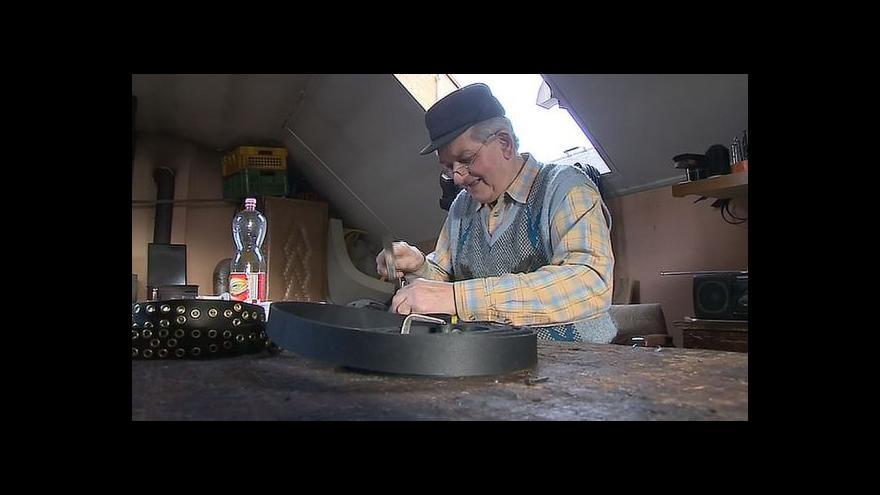 Video Starousedlík Stanislav Popelka o životě ve Strání