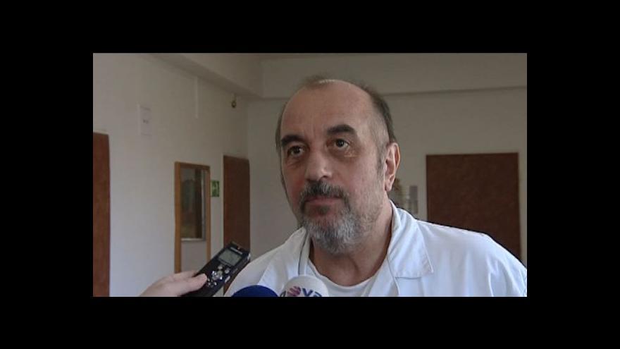 Video Přednosta Ústavu soudního lékařství Miroslav Hirt