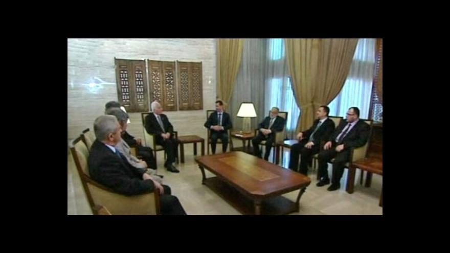Video Pozorovatelská mise v Sýrii se rozpadá