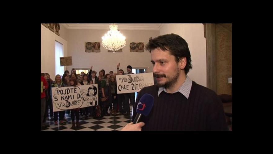 Video Rozhovor s produkčním Pavlem Baďurou