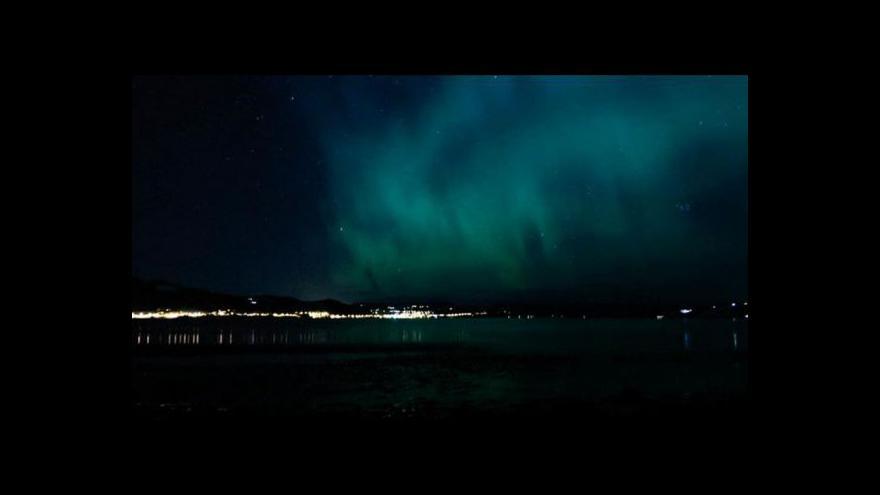 Video Záběry polární záře