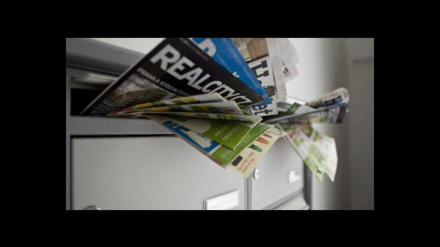 Video Reportáž o poštovní loupeži