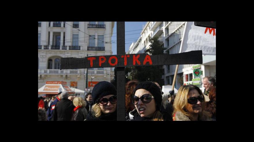 Video Řecké škrty
