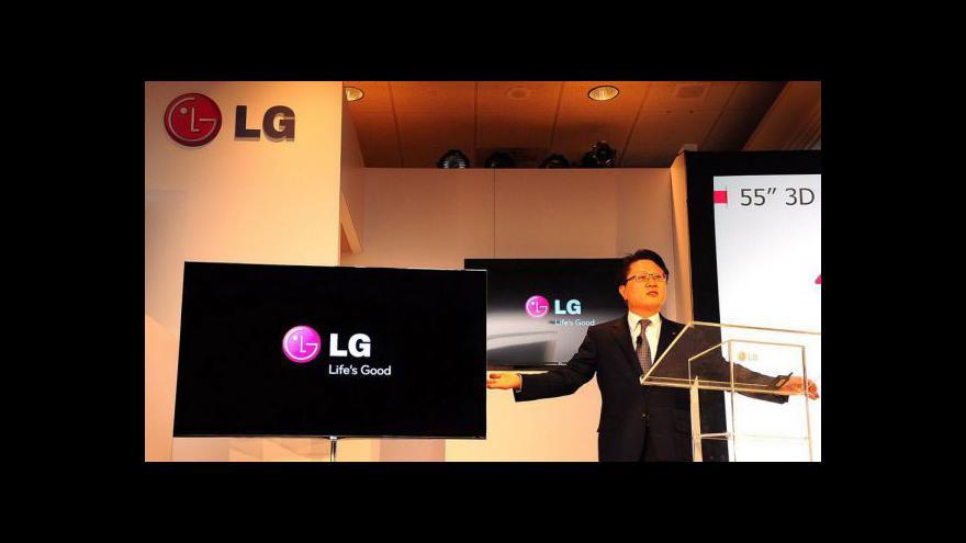 Video 55palcová OLED televize LG