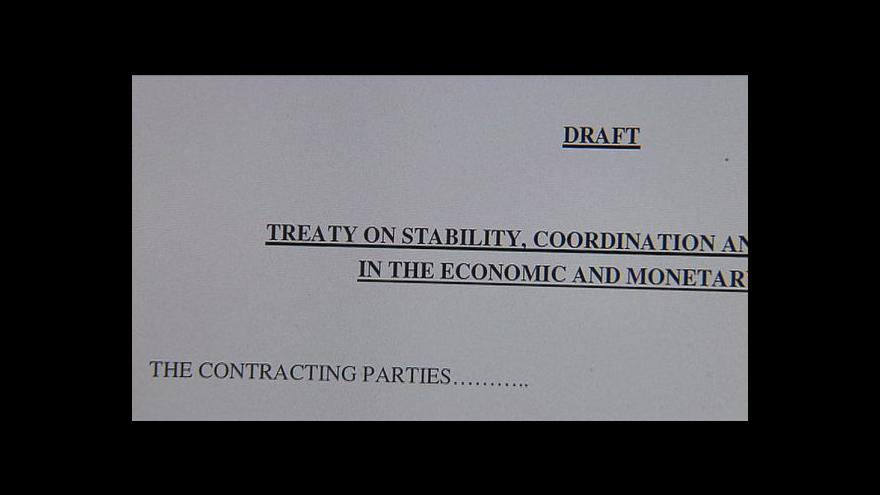 Video Eurozóna vyjednává rozpočtovou disciplínu