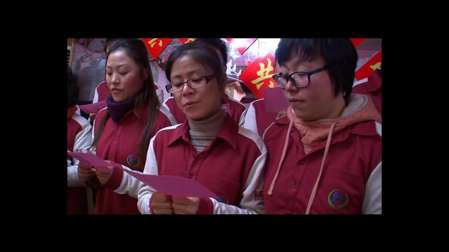 Video Do Číny dorazil dračí rok
