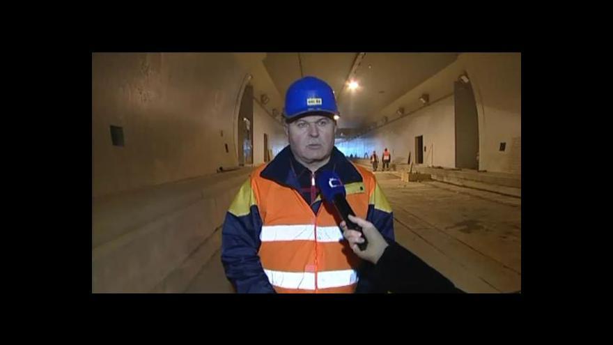 Video O tunelech hovoří ředitel výstavby Vladimír Macík