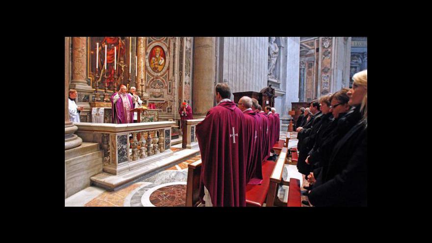 Video Ve Vatikánu se konala zádušní mše za Václava Havla