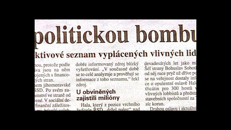 Video Analytik HN Jindřich Šídlo ve Studiu ČT24