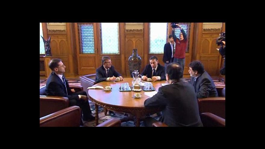Video Maďarsko jedná o finanční pomoci s EU a MMF