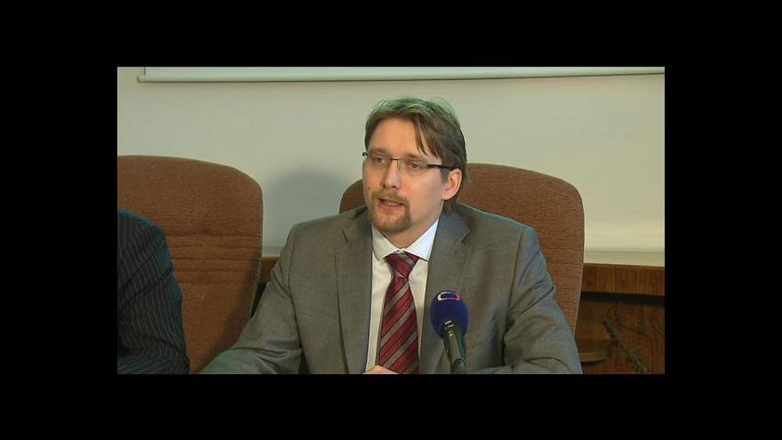 Video Tisková konference Pavla Dobeše